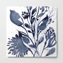 Organic Impressions No. 109 by Kathy Morton Stanion Metal Print