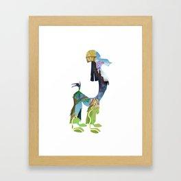 Kuzcotopia Framed Art Print