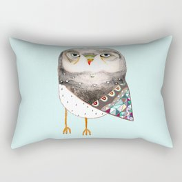 Owl by Ashley Percival Rectangular Pillow