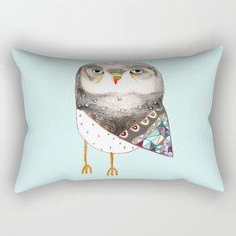 Owl by Ashley Percival Rectangular Pillow