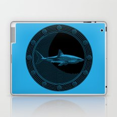 Engraved Shark Laptop & iPad Skin