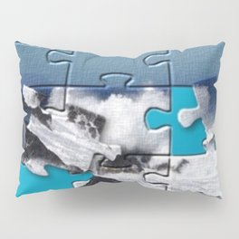 Puzzled Ocean Pillow Sham