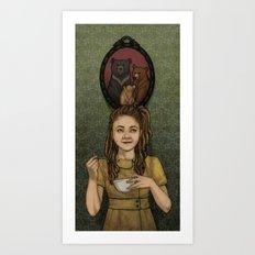Just Right Art Print