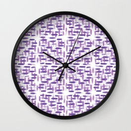 Pattern 37 Wall Clock
