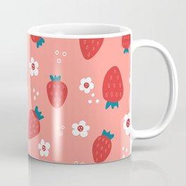 Wild Strawberries Red Coffee Mug