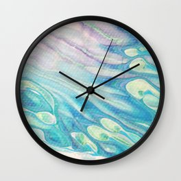 Prism Rain Wall Clock