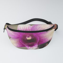 Pink and Purple Orchid Fanny Pack
