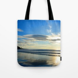 Gold Reflections Tote Bag