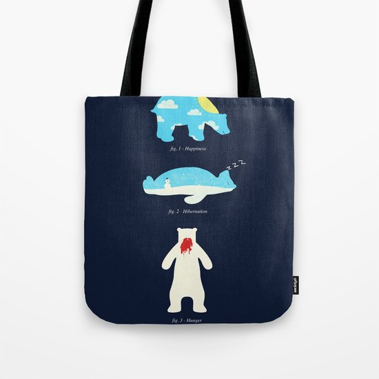 The 3 H's of Bear Life Tote Bag