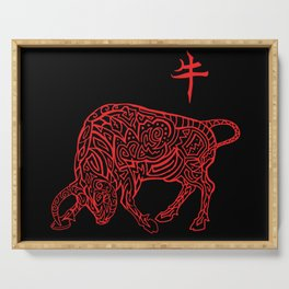 Year of the Ox Serving Tray