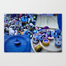 Spinners Canvas Print