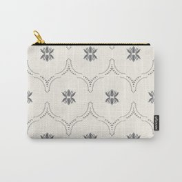 WILDFLOWER JASMIN GREY Carry-All Pouch