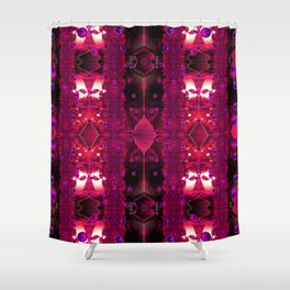 All Neon Like (Something Borrowed) Shower Curtain
