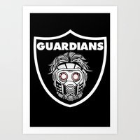 guardians Art Prints featuring Guardians  by Buby87