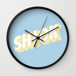 SHIOK Wall Clock