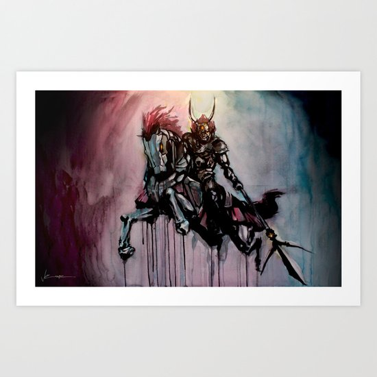 Phantom G Art Print