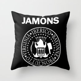 Jamons Throw Pillow