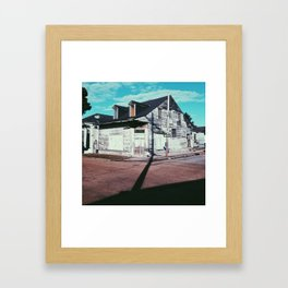 Bywater patina, New Orleans 2013 Framed Art Print
