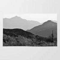 arizona Area & Throw Rugs featuring Arizona by Elina Cate