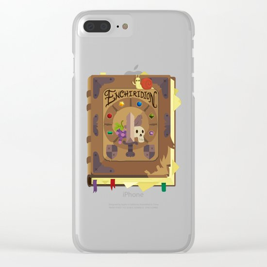 ENCHIRIDION Clear iPhone Case