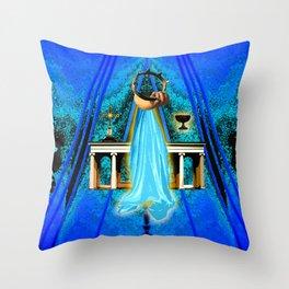 The Vigil Throw Pillow