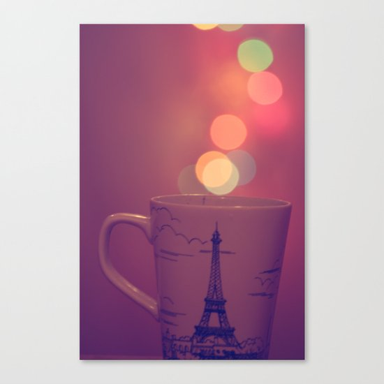 Cup Full of Bokeh Canvas Print