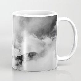 Black & White tree in the clouds Coffee Mug
