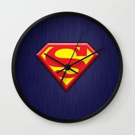 Super Hero Super Man Wall Clock