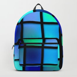 Colored Pattern Backpack