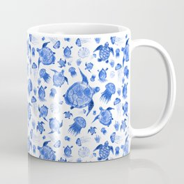 Ocean Life-Blue Palette Coffee Mug