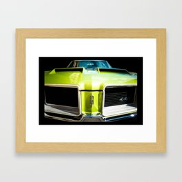 Green Machine (Center Version) Framed Art Print