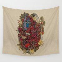apollo Wall Tapestries featuring - apollo - by Magdalla Del Fresto