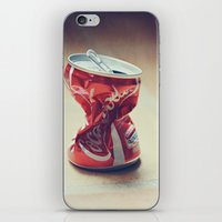 coke iPhone & iPod Skins featuring Coke by Ntaly