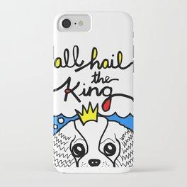 Cavalier King Charles Spaniel: All Hail the King iPhone Case