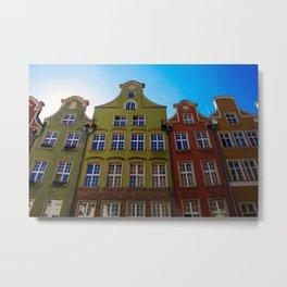 Gdansk Architecture Metal Print