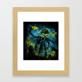 mad robot 2 Framed Art Print