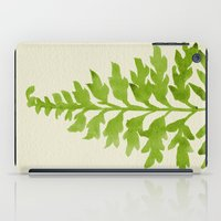 lime iPad Cases featuring Lime Fern by Cat Coquillette
