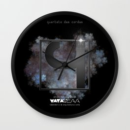 "Vaca - MP: ""Quarteto das Cordas"" Wall Clock"