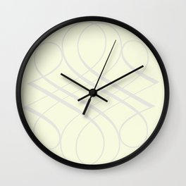 ornament Wall Clock