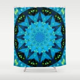 Mandala Source of light Shower Curtain