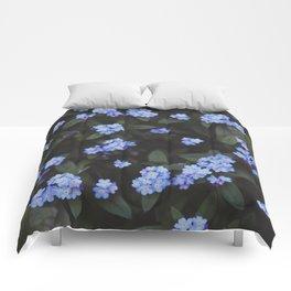 Dark Garden: Forget-me-nots Comforters
