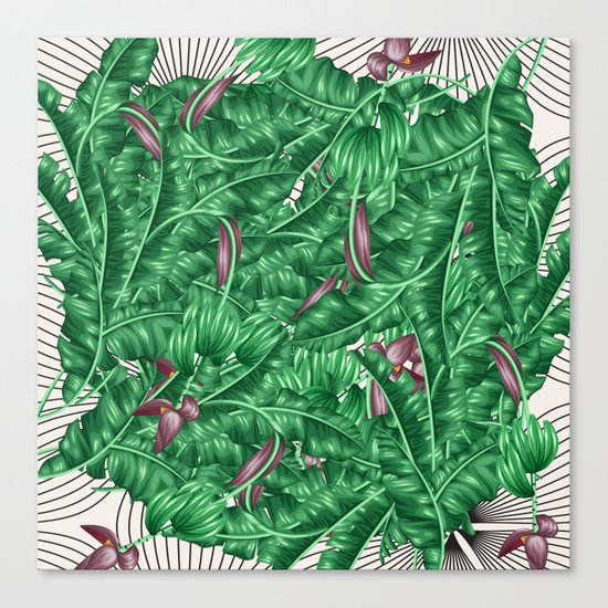 tropical nature Canvas Print