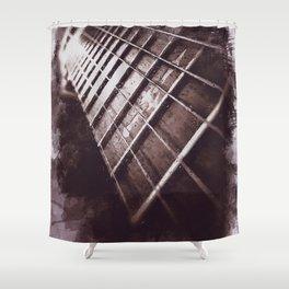 Guitars details Shower Curtain