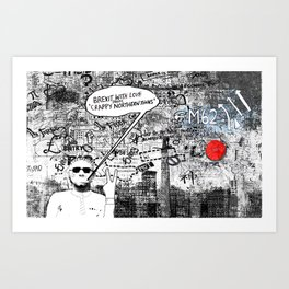 Brexit with Love Art Print