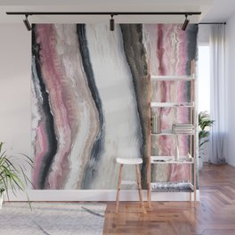 Pink Geode One Wall Mural