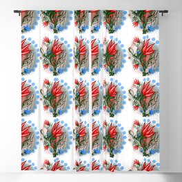 Red Dwarf Plant Blackout Curtain