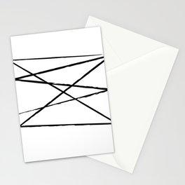 Brush strokes #1 Stationery Cards