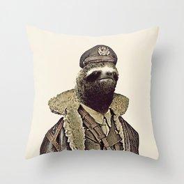 LIKE A SLOTH. Throw Pillow