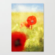 summer painting Canvas Print