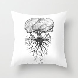 Know Your Roots Throw Pillow
